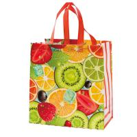Buy cheap Multi Color Eco Friendly Non Woven Shopping Bag , Laminated Grocery Bag from wholesalers
