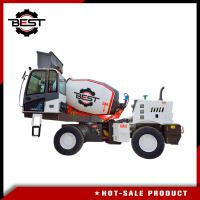 China 3 cubic meters heavy weight self loading concrete mixer truck for sale on sale