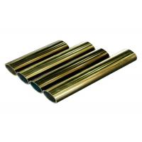 Wholesale Polishing Golden Aluminium Profile , 6063-T6 Aluminum Door Profile from china suppliers