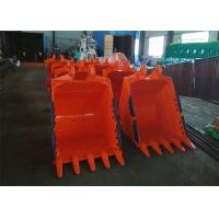 Quality 1.1 CBM Capacity Excavator Rock Bucket 1200mm Width And 800 Mm Depth for sale