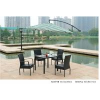 Wholesale 2014  pe rattan wicker coffee one table four chair outdoor sets from china suppliers