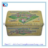 Wholesale Large rectangular biscuit cookies tin box from china suppliers