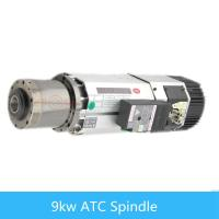 Wholesale Air Cooling Automatic Tool 9 kw ATC spindle for CNC woodworking machine from china suppliers