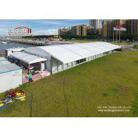 Wholesale 20 Width Arcum Tent With Eave Extension And Glass Walls For Wedding Parties from china suppliers