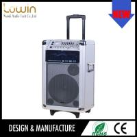 China Guangzhou design newest big portable rechargeable speaker with usb/sd , wireless portable speaker on sale