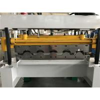 Wholesale High Speed 5 - 8m / min Tile Roll Forming Machine For Colored Steel Plate from china suppliers