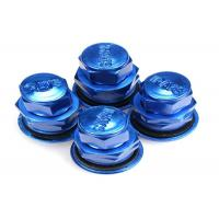 Wholesale Blue Colored Valve Stem Caps/ Tire Air Valve Cap Rubber Metal Valve Mouth from china suppliers