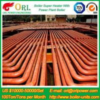 Wholesale ORL Power 50 MW CFB Boiler Superheater For Petroleum Steam Oil Industry Plant from china suppliers