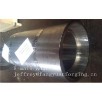 Wholesale 16Mo3 Steel Forged Ring Forged Cylinder Flange Heat Treatment And Machined from china suppliers