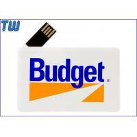 180 Degree Twisting Spin Credit Card Style USB Flash Memory Full Protection for sale