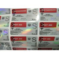 Buy cheap Multi Size Glass Vial Labels Laser Custom Hologram For 300mg Masteron Enanthate from wholesalers