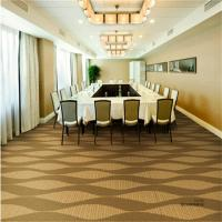 China Conference Room Pvc Floor Covering Jacquard Style Machine Woven Technics for sale