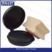 """Quality Custom Pre ink Wood Rubber Ink Stamp for Election Personal Use - 1 1/2"""" Round for sale"""