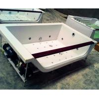 China Hydrotherapy Bath Jacuzzi Whirlpool Bath Tub White With FREE Remote Control on sale