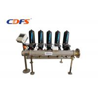 China Cooling Tower Disc Filtration System / High Precision Automatic Filtration Systems for sale