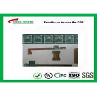Wholesale Rigid-Flex Quick Turn PCB Prototypes Base on IPC-2223 Guidelines Yellow and Green from china suppliers