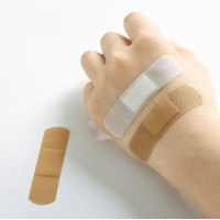 Wholesale china manufacturer price white band-aid fabric medical wound adhesive plaster custom printed band aid from china suppliers