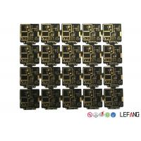 Buy cheap Custom 1.0 Mm 4 Layers High Frequency PCB Double Sided with ENIG Surface from wholesalers