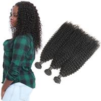 Wholesale Grade 9A Kinky Baby Remy Curly Hair Extensions 3 Bundles Raw Human Hair from china suppliers