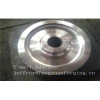 Wholesale 4140 42CrMo4 SCM440 Alloy Steel Rail Forged Wheel Blanks Quenching And Tempering Finish Machining Mine Industry from china suppliers