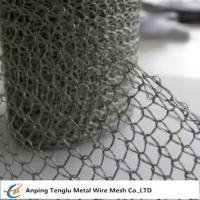 China Stainless Steel Knitted Wire Mesh |Single or Double Wire 1x2mm Hole/0.15mm on sale