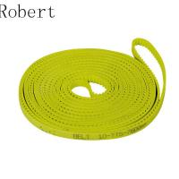China 10 mm Pitch Toothed Polyurethane Timing Drive Belts High Abrasion Resistance on sale