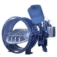 Wholesale Dia. 50 - 3000 mm  hydraulic counter weight Flanged Butterfly Valve for Hydropower Project from china suppliers