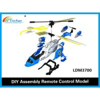 Wholesale 3 In 1 M37 DIY Assembly RC Helicopter Model 3.5CH With Gyro,DIY rc model plane,DIY RC toys from china suppliers