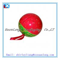 Wholesale Ball shaped tin box for candy packing from china suppliers