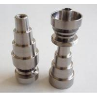 Wholesale Fully Adjustable Domeless Titanium Nail 14mm & 18 mm Male and Female 6 in from china suppliers