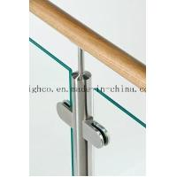 Quality Stainless Steel D shape Flat Glass Clamps 40x50mm Fit 6-8mm Glass for Glass for sale