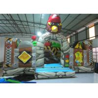 Wholesale New The Gorilla Inflatable Fun City Animals The construction inflatable Amusement Park For Children under 12 years from china suppliers