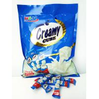 Wholesale Eco-Friendly 5 In 1 Cube Shaped Tablet Candy Deep In Milk Flavor from china suppliers