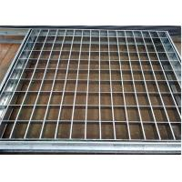 Wholesale Customized Design Pressure Locked Steel Grating 30 × 5 / 32 × 5 Platform from china suppliers
