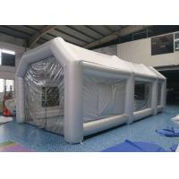 Wholesale Car Workstation Fireproof Portable Inflatable Spray Paint Booth Easy To Carry from china suppliers