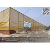 Wholesale Yellow Color Wind Breaker Fence System for opening Coal Storage Area from china suppliers