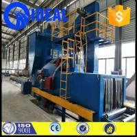 Quality Metal or coil material dependable shot blasting machine with electric fuel for sale