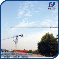 China Top Flat Tower Crane QTP5010 50M Boom Long 5TONS Specifications on sale