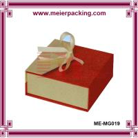 Wholesale Ribbon gift box, magnetic paper jewelry box, luxury ring box ME-MG019 from china suppliers