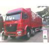 Buy cheap SINOTRUK HOWO 8x4 Heavy Cargo Trucks / Diesel Box Stake Truck , STRONGEST TRACTOR from wholesalers