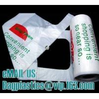 Wholesale T-shirt bags, vest carrier, carrier bags, shopping bags, shopper, handy bags, handle bags from china suppliers