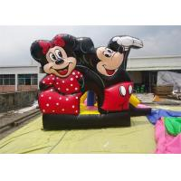 Wholesale OEM Lagre Mickey Mouse Inflatable Bouncing House With Logo Printing from china suppliers