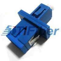 Buy cheap UPC type LC to SC simplex /  duplex fiber adapter  female to female from Wholesalers