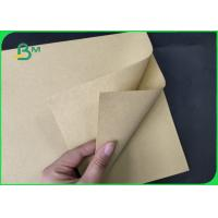 Wholesale FSC 80g 250gsm 350gsm Natural Brown Color Kraft Paper Rolls Eco - Friendly from china suppliers