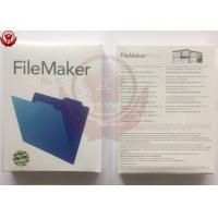 Wholesale Microsoft Office Adobe Graphic Design Software FileMaker Pro 16 Retail Package from china suppliers