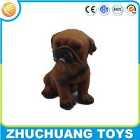Quality noise maker small cartoon dog dolls and toys for sale