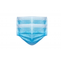Buy cheap 3 Ply Non Woven Food Industry Disposable Earloop Face Mask from wholesalers