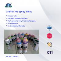 Wholesale Multi Colors 400ml Art Graffiti Spray Paint For Wall / House Decoration from china suppliers