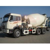 Wholesale 6 X 4  Ready Mix Concrete Mixing Truck6-8m3 Front Discharge High Speed Left Drive from china suppliers