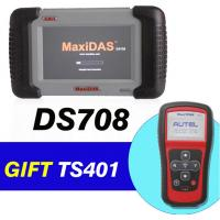Wholesale Buy Autel MaxiDAS DS708 Get MaxiTPMS TS401 As Gift for Car Diagnostics Scanner from china suppliers